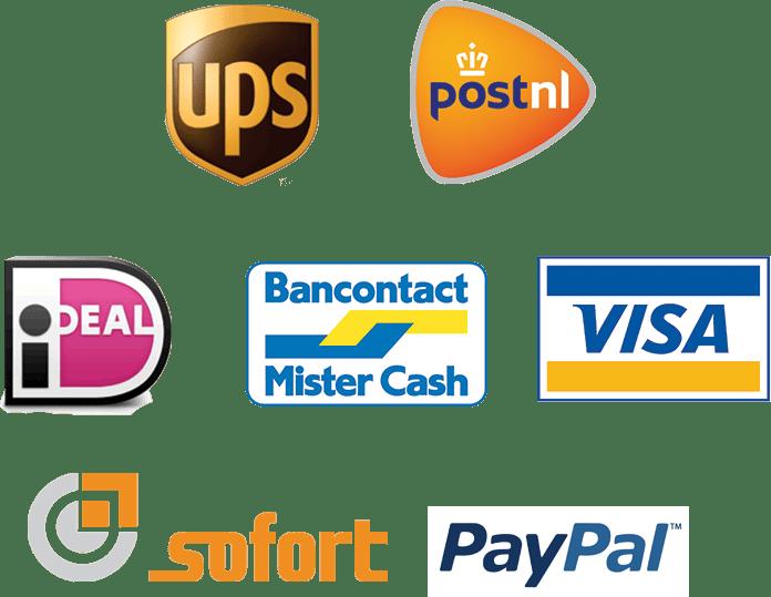 Aflever en betaalmethoden