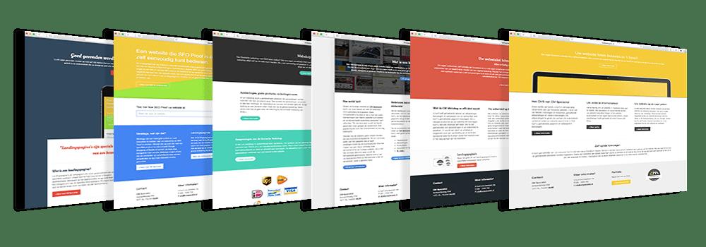 Uw webshop of website i.c.m. Miniwebsites