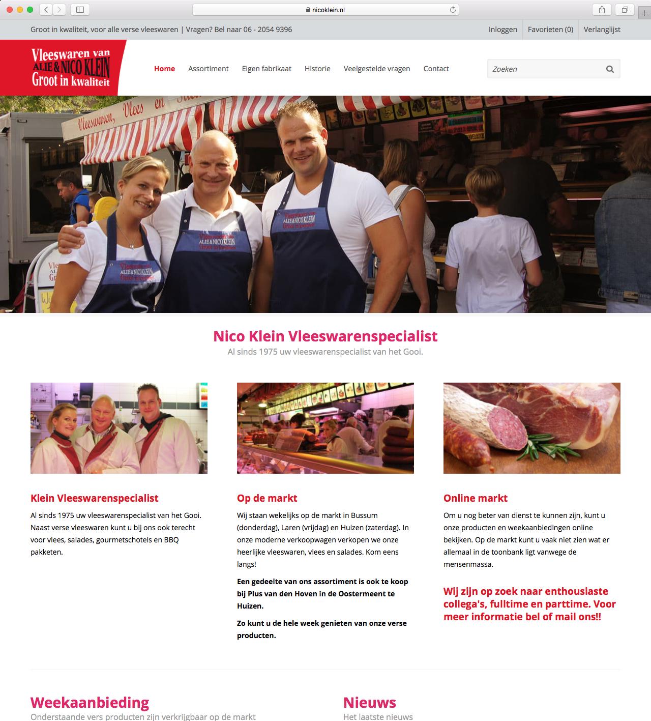 Nico Klein Vleeswaren