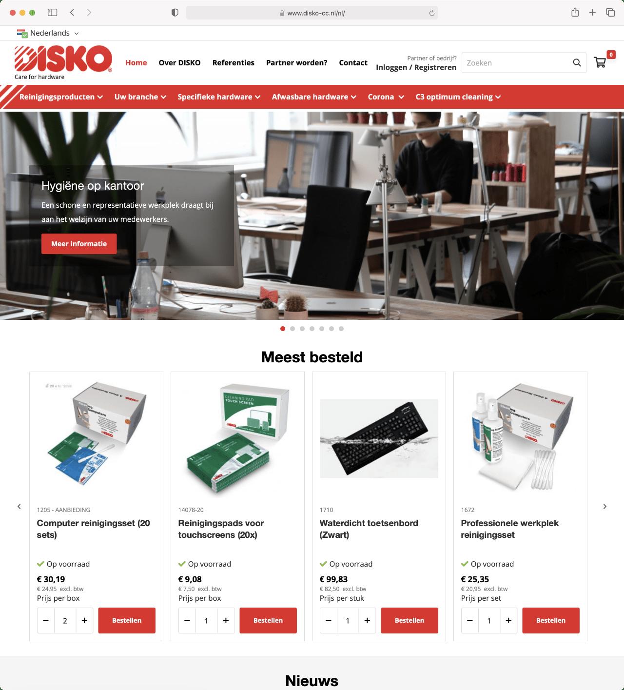 Disko Care for Hardware
