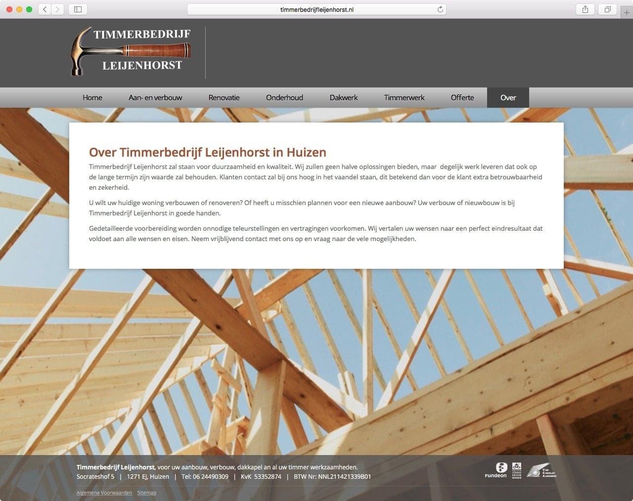 Timmerbedrijf Leijenhorst