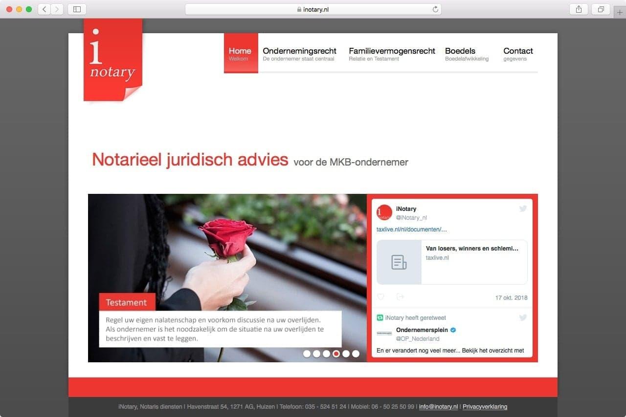 Inotary - Juridisch