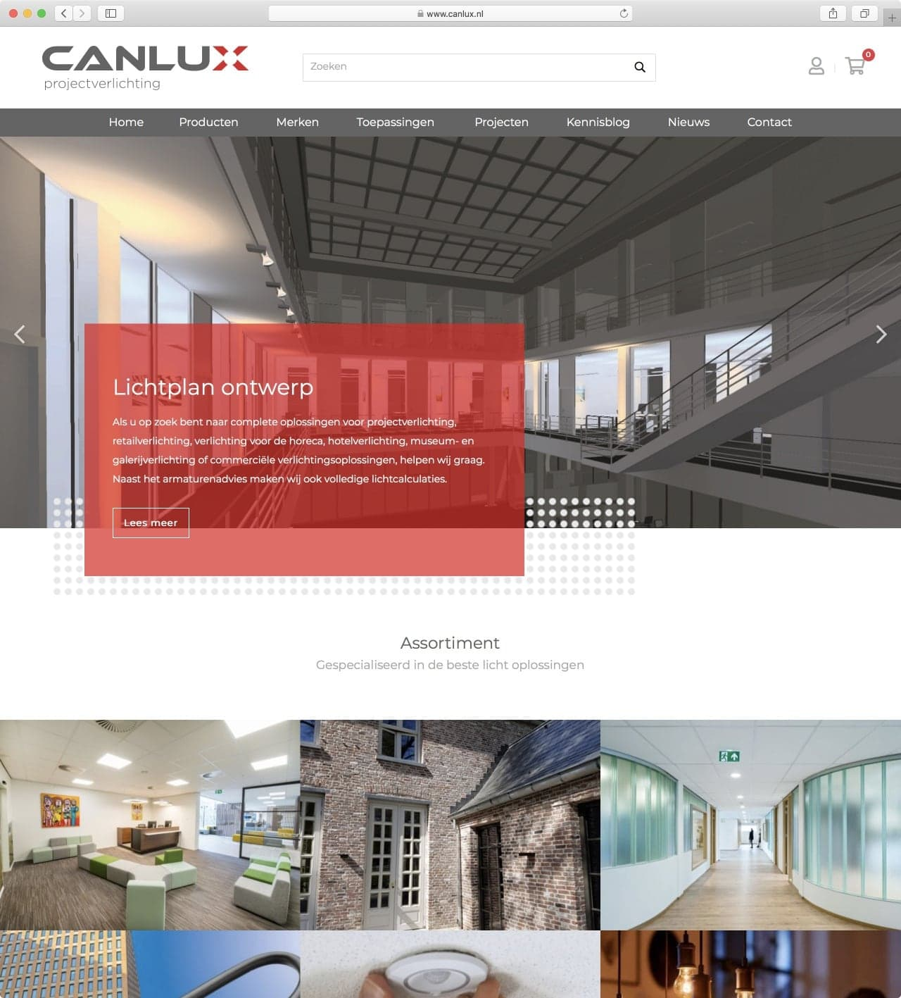 Canlux Projectverlichting