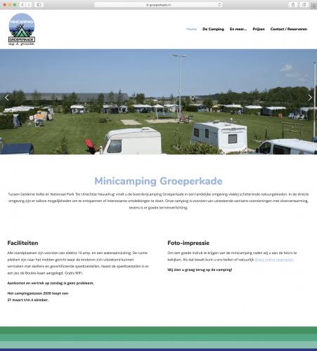 Minicamping Groeperkade