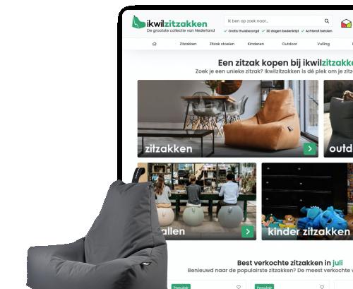 Ikwilzitzakken - B2C Webshop