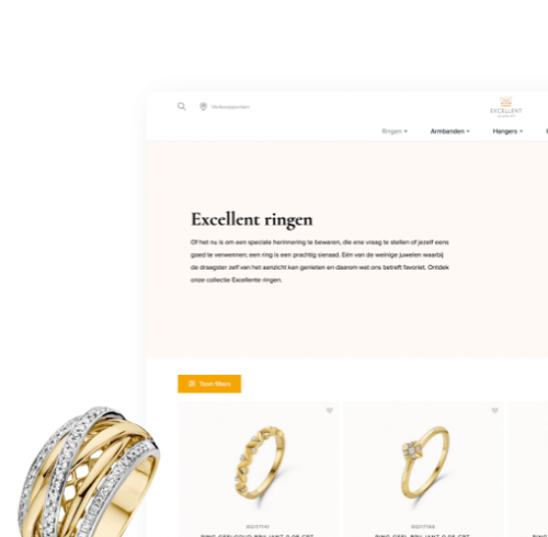 Excellent Jewelry - B2B Webshop