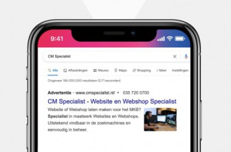 Google Ads Search met afbeelding!